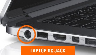 DC jack replacement and repair for laptops