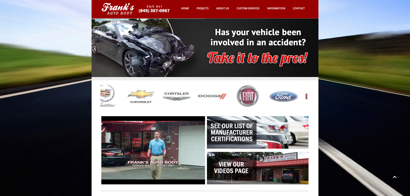 Frank's Auto Body<div style='clear:both;width:100%;height:0px;'></div><span class='cat'>Page 1</span>